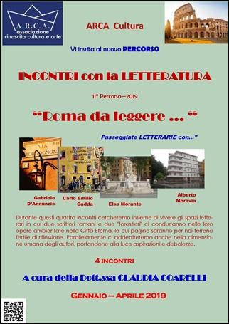 """INCONTRI CON L'ARTE 2018-2019 – 11° PERCORSO: """"INCONTRI con la LETTERATURA"""""""