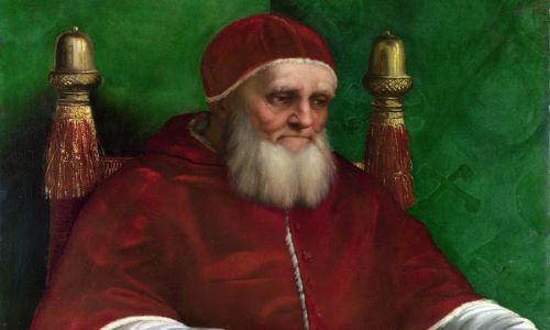 """Dalla sezione NAVIGANTI… """"STORIE DI QUADRI: Raffaello – ritratto di Giulio II"""" – a cura di Elisabetta Visentin"""