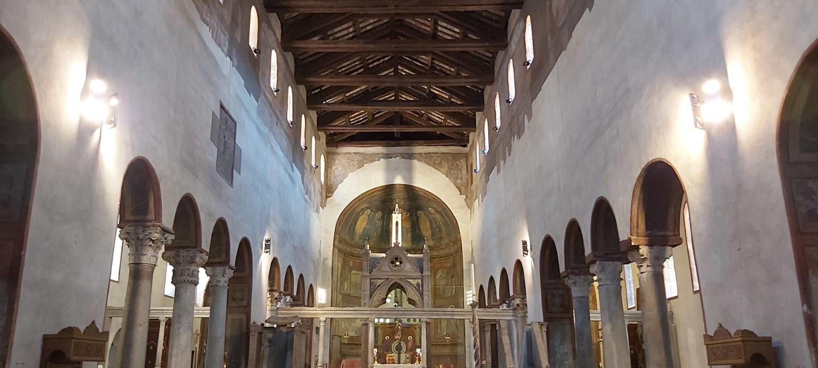 """""""CACCIA AI TESORI""""  La Basilica di   S. MARIA IN COSMEDIN  e CRIPTA di ADRIANO –  22 Maggio 2021"""