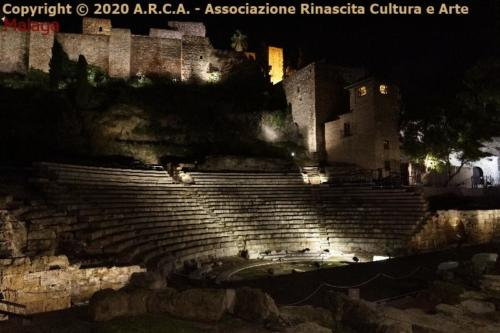 af - Malaga -Teatro Romano Alcazaba.