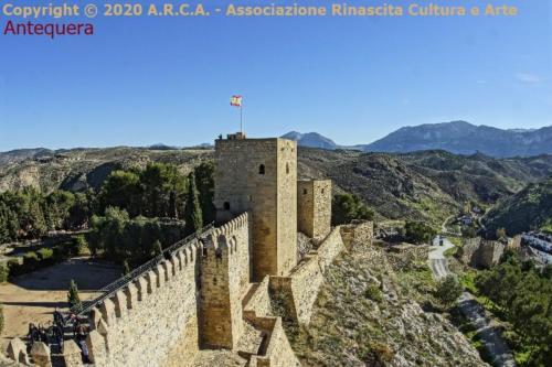 b5- Antequera Alcazaba fortezza