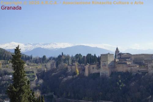 ca - Granada Alambra fortezza