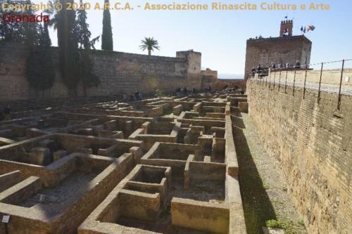 cc - Granada - Alhambra-fortezza ,