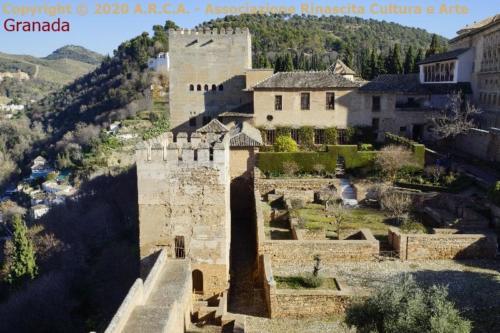 ce - Granada  Alhambra fortezza