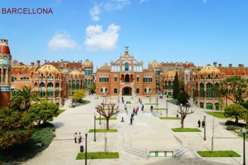 aah- Barcellona - Ospedale  ..Sant Pau