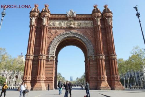 ach- Barcellona - Arco di trionfo