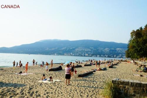 aj- Vancouver spiaggia (British Columbia)