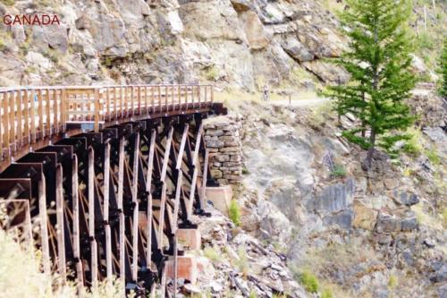 bh- Ponte di legno- Myra Canyon- Kelowna (British Columbia) -