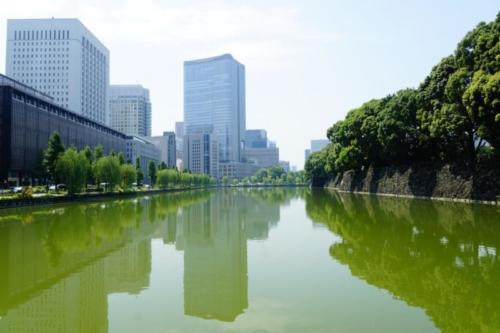 ak- Vista città di Tokyo
