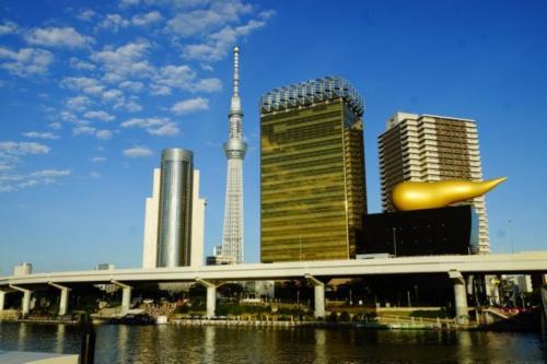 ax- Vista città di Tokyo