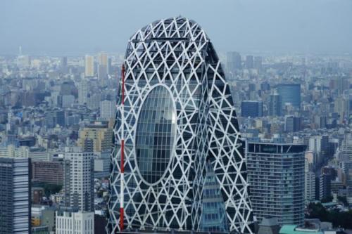 ba- Vista città di Tokyo