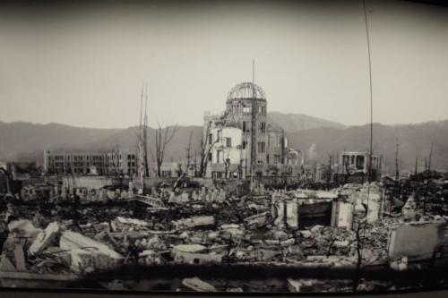 fc- Immagine Hiroshima, dopo lo scoppio della bomba atomica