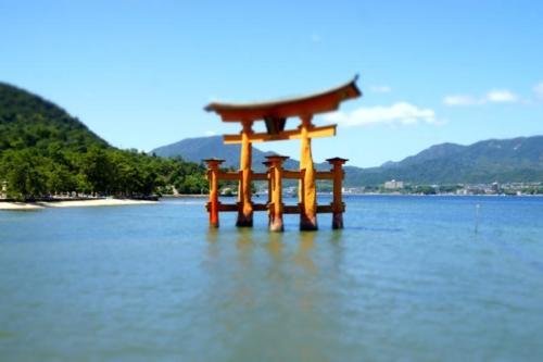fg- Santuario di Itsukushima, isola di Miyajima (Hiroshima)