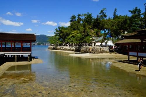 fl- Santuario di Itsukushima, isola di Miyajima (Hiroshima)
