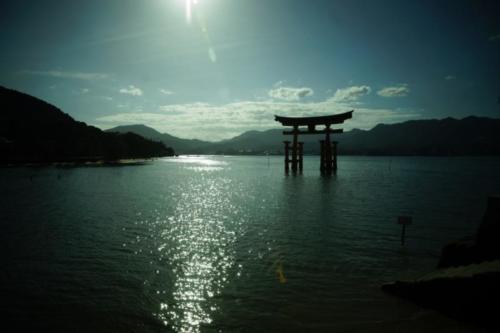 fm- Santuario di Itsukushima, isola di Miyajima