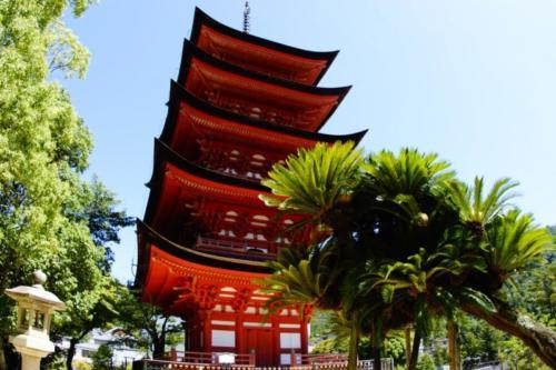 fr- Pagoda, Tempio Daisho-in, isola di Miyajima (Hiroshima)