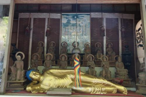 fu- Buddha, tempio Daisho-in, isola di Miyajima (Hiroshima)