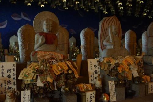 fy- Statue di Kannon, Tempio Daisho-in, isola di Miyajima (Hiroshima)