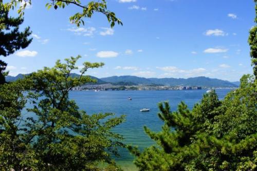 ga- Vista mare, isola di Miyajima- (Hiroshima)