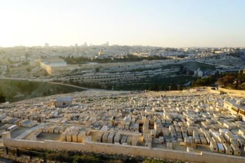 aa- Vista Gerusalemme dal Monte degli Ulivi