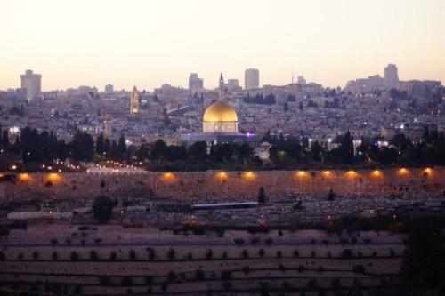 ab- Vista città antica Gerusalemme