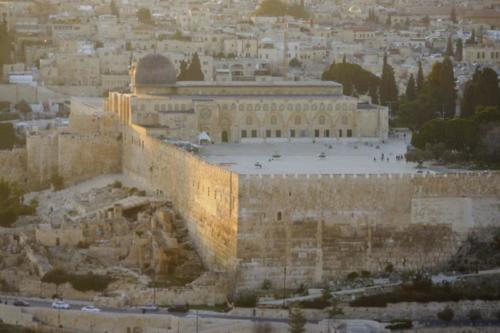ac- Vista, Spianata delle Moschee- Gerusalemme