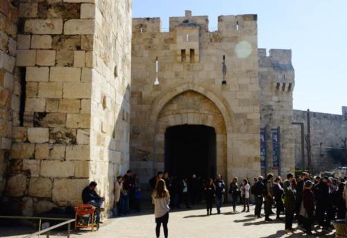 ad- Jaffa Gate- Gerusalemme