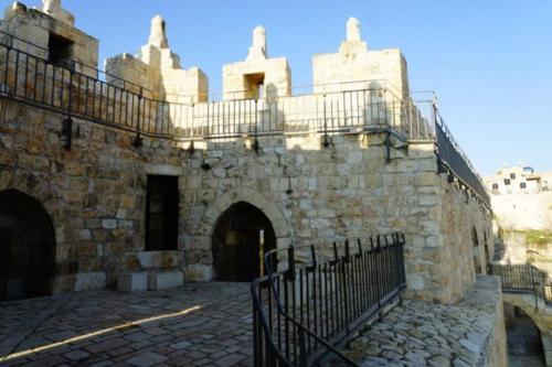 ag- Mura, città vecchia di Gerusalemme