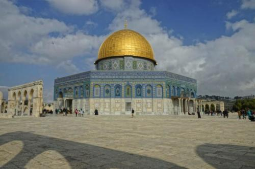 at- Santuario islamico, Cupola della Roccia- Gerusalemme