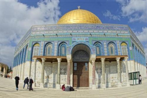 au- Santuario islamico, Cupola della Roccia- Gerusalemme