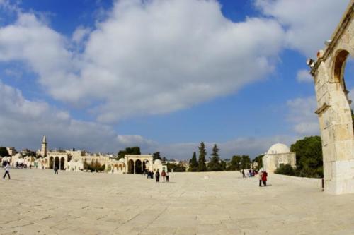 av- Spianata delle Moschee- Gerusalemme