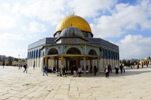 ax- Santuario islamico, cupola della Roccia- Gerusalemme