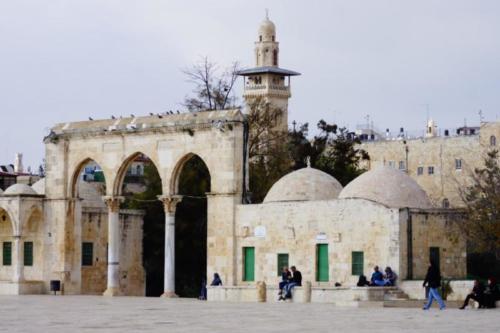 ay- Vista, Spianata delle Moschee- Gerusalemme