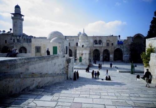 az- Spianata delle Moschee- Gerusalemme