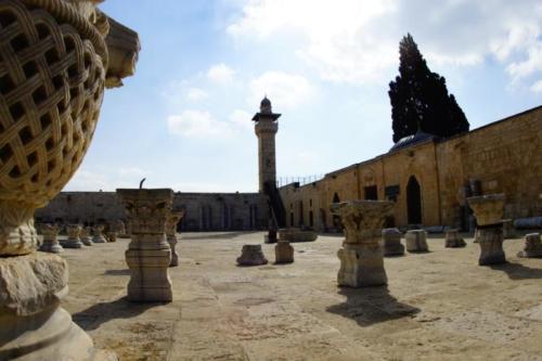 ba- Minareto, Spianata delle Moschee- Gerusalemme