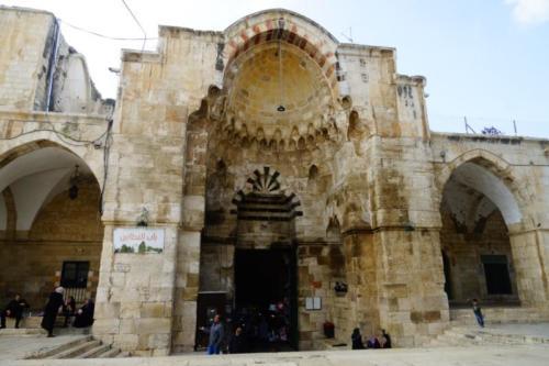 bb- Porta di accesso, Spianata delle Moschee- Gerusalemme