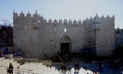 bc- Damascus Gate- Gerusalemme