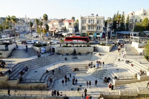bd- Piazza, Damascus Gate- Gerusalemme