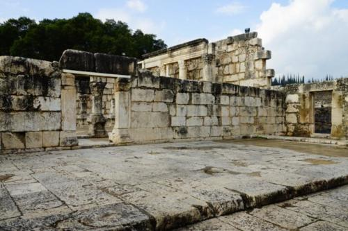 dy- Resti della Sinagoga di Cafarnao