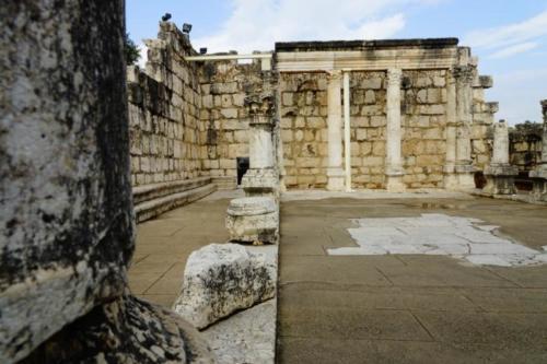dz- Resti della Sinagoga di Cafarnao