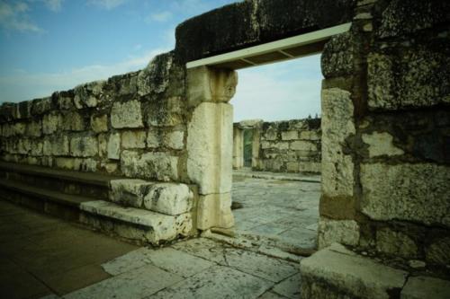 ea- Resti della Sinagoga di Cafarnao