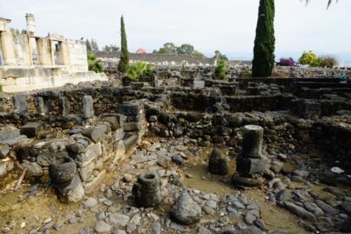 eb- Resti antica città di Cafarnao