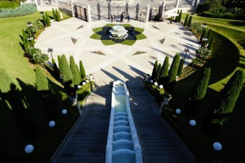 ev- Giardini, Santuario Bahai- Haifa