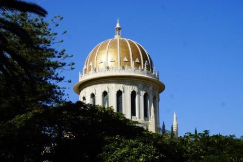 ey- Cupola, Mausoleo del Báb- Haifa