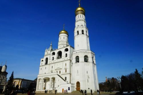 ach- Cremlino, Campanile di Ivan  il Grancde - Piazza delle Cattedrali