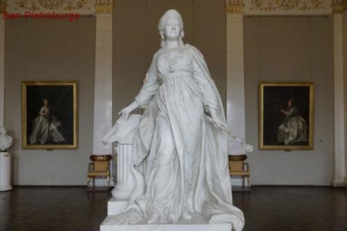 au- Statua di Caterina II di Russia, Museo Ermitage