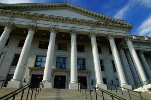 ab- Utah State Capitol, Salt Lake City (Utah)