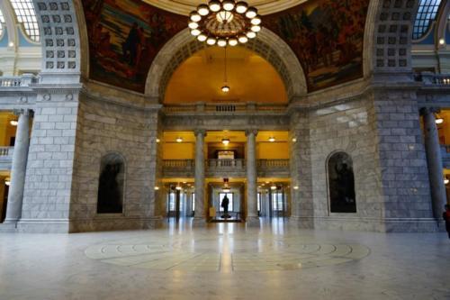 ac- Utah State Capitol, Salt Lake City (Utah)