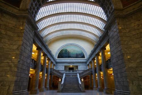 ad- Utah State Capitol, Salt Lake City (Utah)