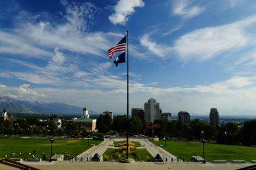 ag- Giardini, Utah State Capitol, Salt Lake City (Utah)